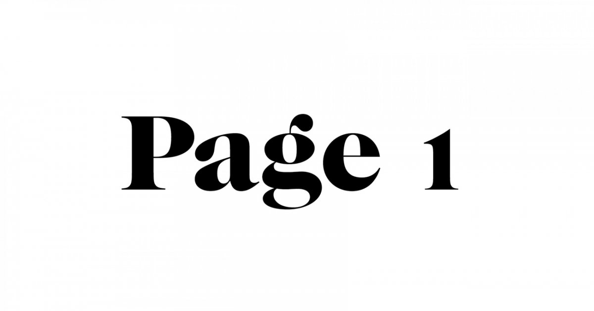 Image result for page 1